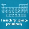 I March For Science Periodically  - Men's T-Shirt