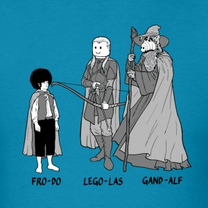 Funny Frodo Legolas and Gandalf parody comic