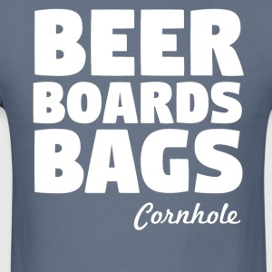 Beer Boards Bags Cornhole - Men's T-Shirt