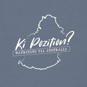 Ki Position? (Mauritius via Australia) - WHITE - Men's T-Shirt