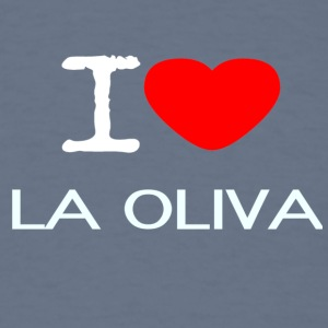 I LOVE LA OLIVA - Men's T-Shirt