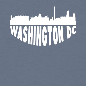 Washington DC Cityscape Skyline - Men's T-Shirt