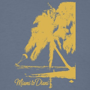 Miami To Diani Gold Collection - Men's T-Shirt