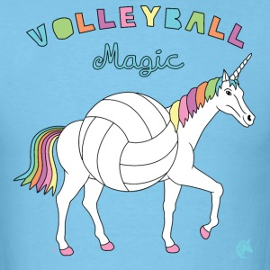 Volleyball Magic Unicorn With Volleyball Body