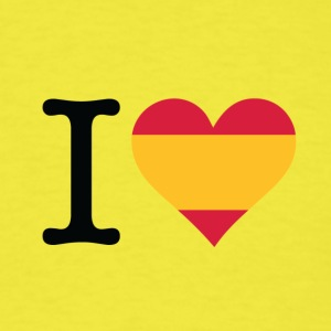 I Love Spain - Men's T-Shirt