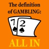 72 ALL IN gambling - Men's T-Shirt