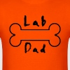 lab dad - Men's T-Shirt