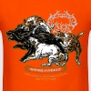 wild_boar_and_hounds - Men's T-Shirt