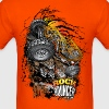 Rock Bouncer Sunset Org - Men's T-Shirt