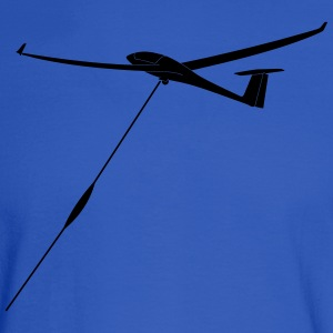 glider pilot winchlaunch - Men's Long Sleeve T-Shirt