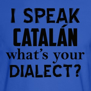 catalan dialect - Men's Long Sleeve T-Shirt