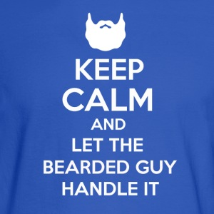 Bearded Guy - Men's Long Sleeve T-Shirt