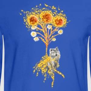 Moon Flower Original Art Design - Men's Long Sleeve T-Shirt