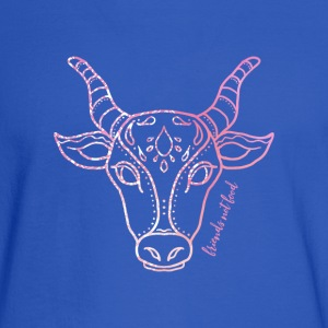 Vegan Cow T Shirts - Men's Long Sleeve T-Shirt