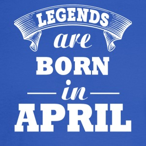 Legends are born in APRIL - Men's Long Sleeve T-Shirt