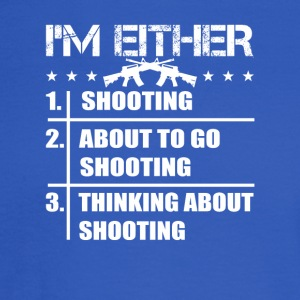 Go Thinking About Shooting 2nd Amendment - Men's Long Sleeve T-Shirt