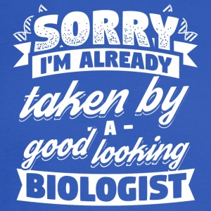 Funny Biology Shirt Already Taken - Men's Long Sleeve T-Shirt