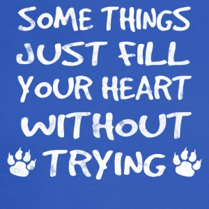 Just things just fill your heart - dog shirt - Men's Long Sleeve T-Shirt