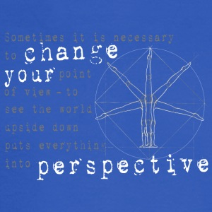 change your perspective point of view - Men's Long Sleeve T-Shirt