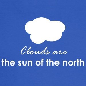 Clouds are the sun of the north - Men's Long Sleeve T-Shirt