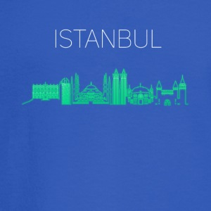 istanbul skyline turkey city Europe Moschee turk - Men's Long Sleeve T-Shirt
