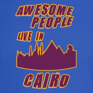 Cairo Awesome people live in - Men's Long Sleeve T-Shirt