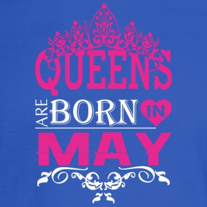 Queens Are Born In May - Men's Long Sleeve T-Shirt
