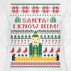 Elf Christmas Sweater - Men's Long Sleeve T-Shirt