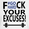 Fuck your excuses! - Men's Long Sleeve T-Shirt
