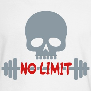 No Limit / skull - Men's Long Sleeve T-Shirt