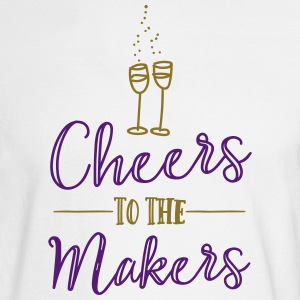 Cheers to the Makers - Men's Long Sleeve T-Shirt