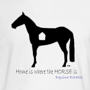 Home is where the HORSE is - Men's Long Sleeve T-Shirt