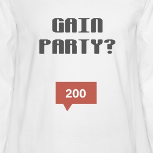 ULTIMATE GAIN PARTY COLLECTION 2017 - Men's Long Sleeve T-Shirt