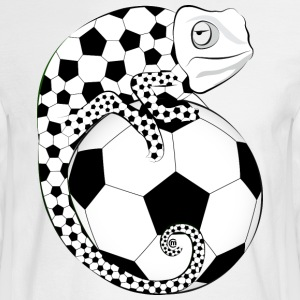 Soccer Chameleon - Men's Long Sleeve T-Shirt