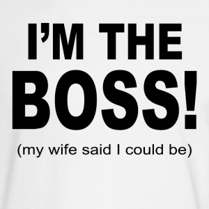 I m the boss - Men's Long Sleeve T-Shirt
