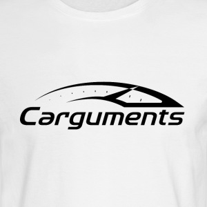 CARGUMENTS Black and White - Men's Long Sleeve T-Shirt