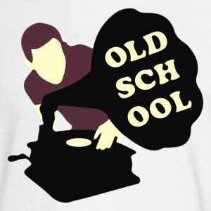 Old school DJ - Men's Long Sleeve T-Shirt