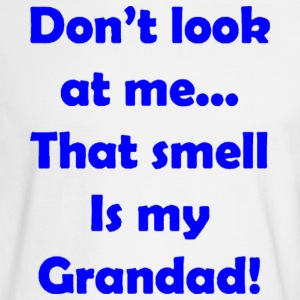 IS my GRANDAD - Men's Long Sleeve T-Shirt