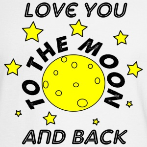 love you to the moon and back - Men's Long Sleeve T-Shirt