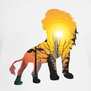 GIFT - LION SUNSET - Men's Long Sleeve T-Shirt