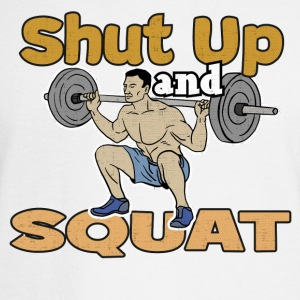 Shut Up and Squat Gym - Men's Long Sleeve T-Shirt