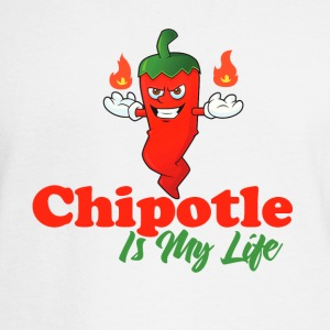 Chipotle Is My Life - Men's Long Sleeve T-Shirt