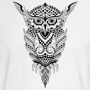 Geometrical Owl - Men's Long Sleeve T-Shirt