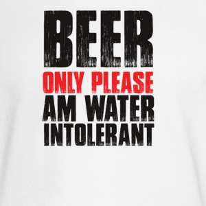 Beer Only Please, Am water intolenrant - Men's Long Sleeve T-Shirt
