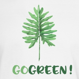 GO GREEN ! - Men's Long Sleeve T-Shirt