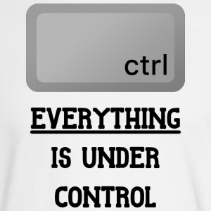 Everything is under Ctrl T Shirt - Men's Long Sleeve T-Shirt