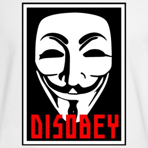 DISOBEY MASK - Men's Long Sleeve T-Shirt