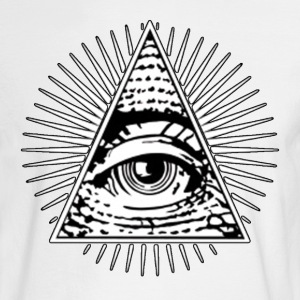 All seeing eye! Illuminati! - Men's Long Sleeve T-Shirt