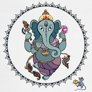 Hindu God Ganesha - Men's Long Sleeve T-Shirt