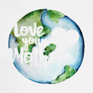 Love your mother earth day - Men's Long Sleeve T-Shirt